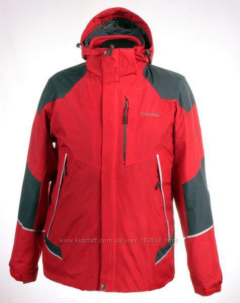 Мужская мембранная куртка Columbia Titanium 3-в-1 красная 02d1bf049e203