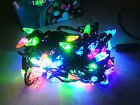 Гирлянда светодиодная Свечи 100 (LED) ламп