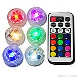 Светодиодная RGB подсветка для аквариумов, фонтанов, водоемов, кальянов с пультом, фото 3