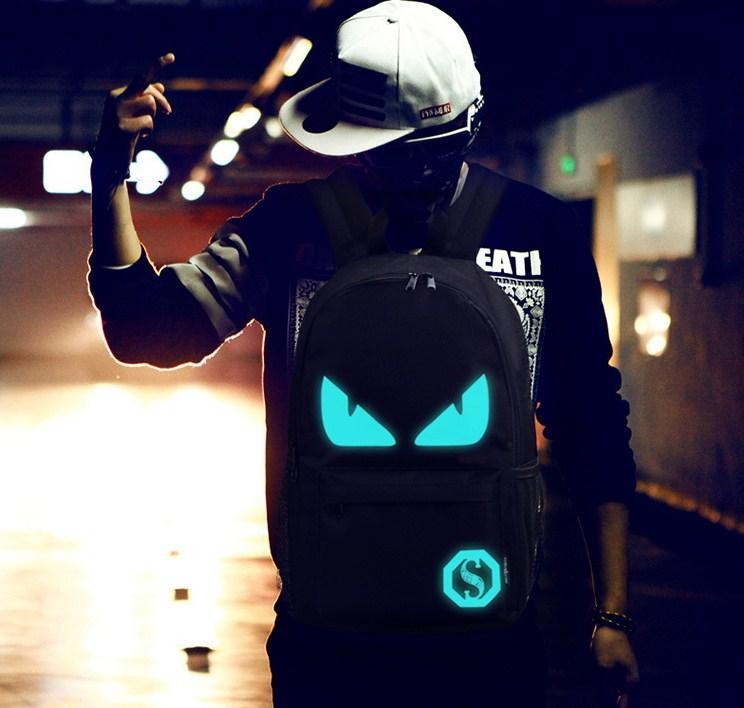 Рюкзак, светится в темноте + USB. Две модели!