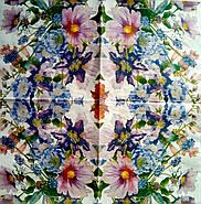 """Салфетка декупажная 33x33 см 16 """" Голубенькие цветы """" , фото 9"""