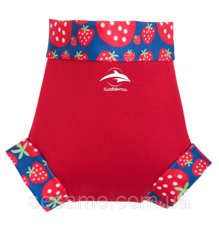 Трусики для плавания Konfidence NeoNappy, Red/Strawberry (NN142-12)