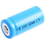 Аккумулятор BAILONG 16340-1600mAh, синий