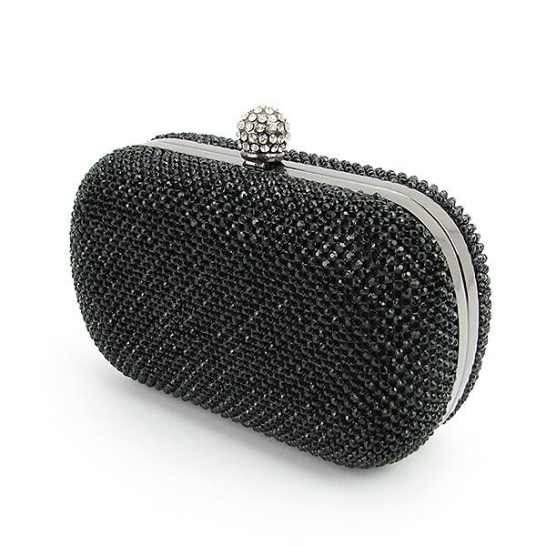 f81d951ad219 Клатч-бокс из камней женский вечерний выпускной черный Rose Heart 2614, ...