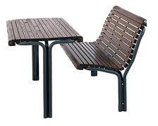 Комплект парковая скамейка и стол