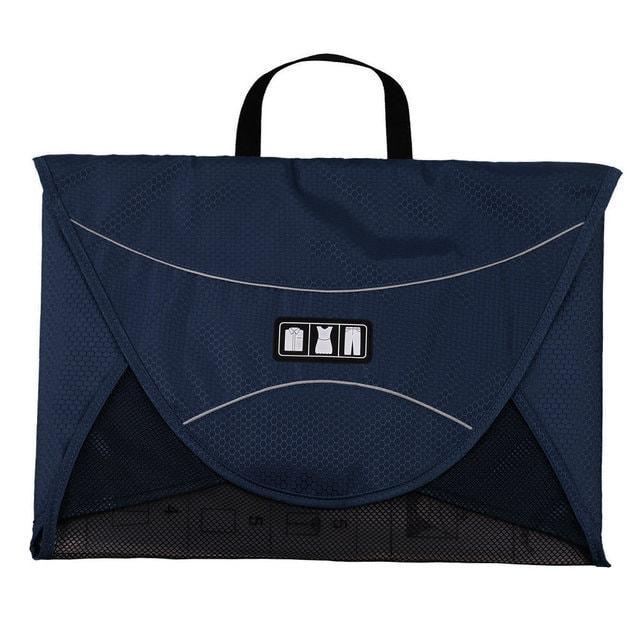 Папка-органайзер для рубашек, брюк и юбок синего цвета