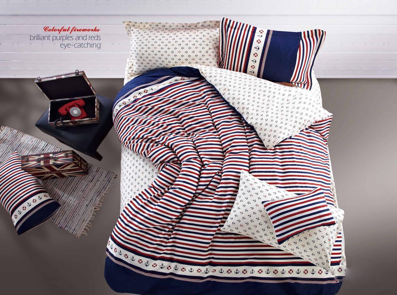 Евро Комплект постельного белья сатин-фотопринт Арабелла