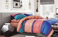 Евро комплект постельного белья сатин-фотопринт Венеция