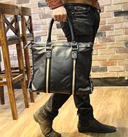 Мужская кожаная сумка. Модель 61273, фото 4