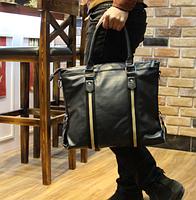 Мужская кожаная сумка. Модель 61273, фото 7