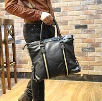 Мужская кожаная сумка. Модель 61273, фото 6