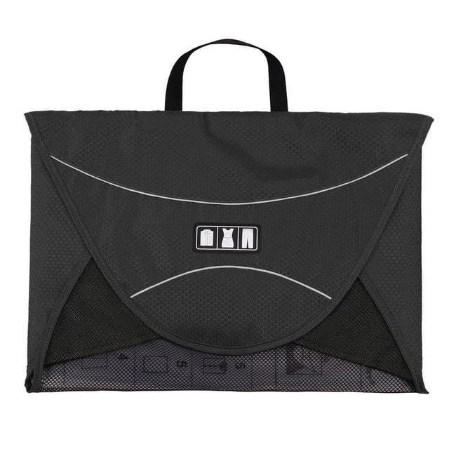 Папка-органайзер для рубашек, брюк и юбок черного цвета