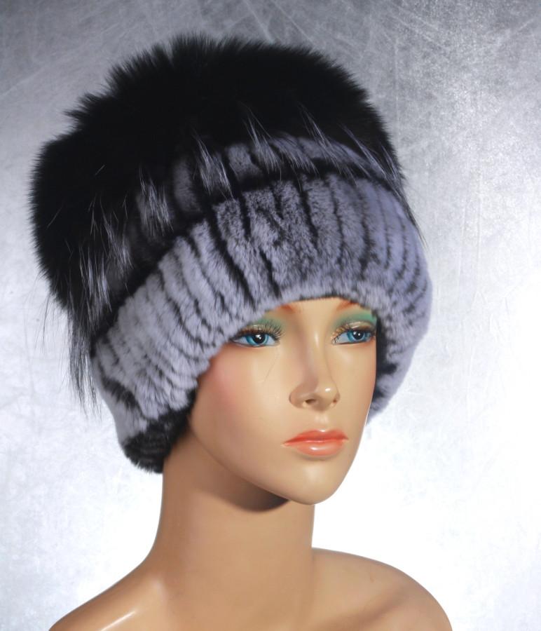 Женская меховая шапка Гамма