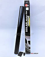 Тонировочная пленка Solux 0,75  х 3 м Super Dark Black