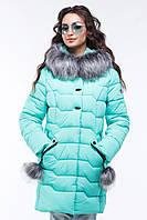 Куртка женская зимняя Гелана, р-ры 44 - 56, ТМ NUI VERY, Украина