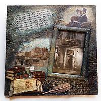 Оригинальная фоторамка ручной работы Подарок учителю литературы