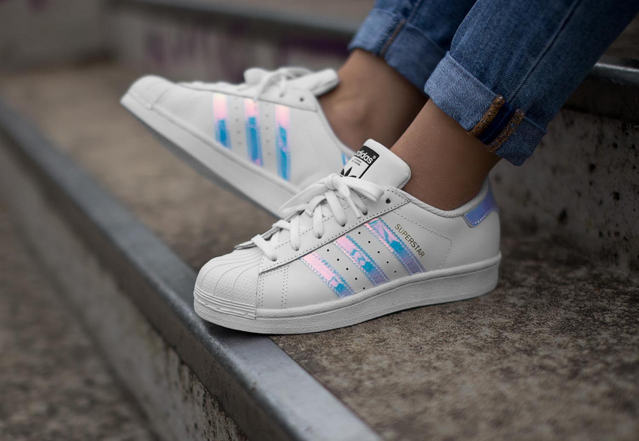 sale retailer 90d05 5b3b6 Кроссовки Adidas Superstar Holographic