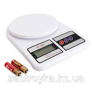 Весы кухонные электронные SF-400, 10кг