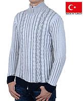 2d81c10d513f0 Стильный кардиган белого цвета.Кофта мужская.Стильные и теплые кофты на зиму .