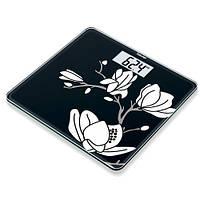 Весы напольные дизайн-линия Beurer GS 211 Magnolia