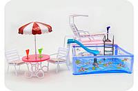 Мебель для кукол «Бассейн» 2578