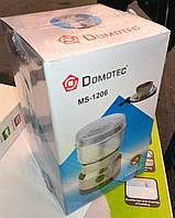 Кофемолка Domotec MS-1206 (нержавеющая сталь)