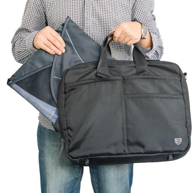 Папка-органайзер для рубашек, брюк и юбок серая в сумке