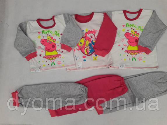 """Детская пижама """" Мария """" для девочек, фото 2"""