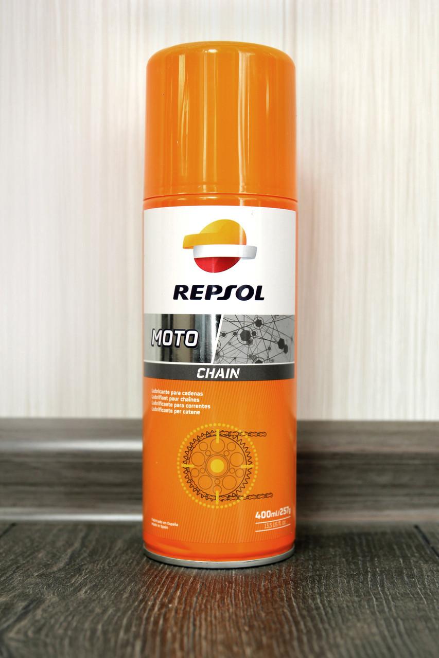 Смазка цепи REPSOL Moto Chain (400 мл)
