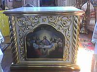 Облачение на престол с позолотой (риза) 150 на 150см