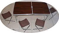 Кемпинговый набор складной стол и стулья CHZ /055