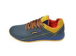 Підростковые кроссовки нат.кожа Cross 39 Blue Ginger Размер: 36 38