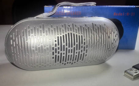 Портативная колонка Bluetooth Speaker M-31 (MP3, FM, USB, TF), фото 2