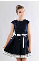 Красивое подростковое платье для школы