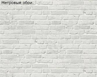 Обои метровые - светло-серый кирпич в Loft 340844, 34084-4.