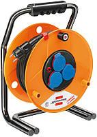 Удлинитель на катушке Brobusta 40 метров; кабель H07RN-F 3G1,5