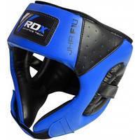Детский шлем для бокса RDX BLUE