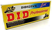 Приводная цепь DID 525VX - 112ZB Gold ( 525 x 112 ) D.I.D. X-RING