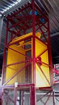 Складской шахтный грузовой подъёмник электрический г/п 1500 кг.  Подъёмники-лифты под заказ., фото 3