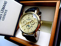 Часы мужские наручные PATEK PHILIPPE золото беж, часы недорого