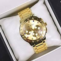 Часы женские наручные Pandora №6 золото, часы дропшиппинг