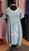 Платье бохо с цветочным принтом