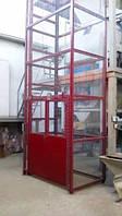 Подъёмник-лифт для промышленного предприятия под заказ. Клетьевые шахтные подъёмники г/п до 6300 кг.