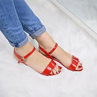 Босоножки женские Arina красные 3290 (сандалии)