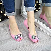 Балетки силиконовые Wella розовые 3320 (сандалии)