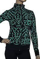 Женский спортивный костюм Billcee черно-зеленый