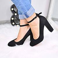 Туфли женские Hiss черные 3547, лодочки