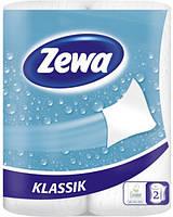 Кухонные полотенца Zewa Делюкс 2слоя, 2рулона, 11м, 50листов (22х23см)