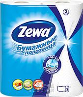 Кухонные полотенца Zewa кухонные полотенца 2слоя, 2рулона, 15м, 60листов (25х23см)