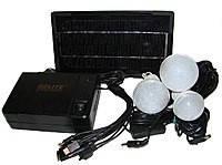 Портативное зарядное устройство с солнечной батареей GD-LITE, GD-8006A. Внешний акумулятор